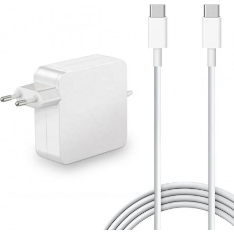 "USB-C 61W Oplader MacBook Pro 13"""