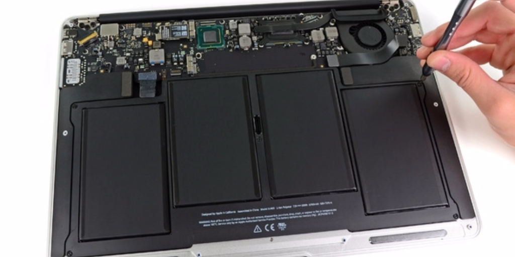 MacBook accu repareren